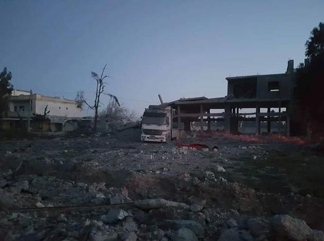 Israel không kích phá hủy một tổ hợp tên lửa đạn đạo Syria ảnh 2