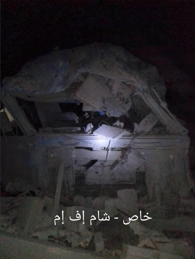 Israel không kích phá hủy một tổ hợp tên lửa đạn đạo Syria ảnh 3