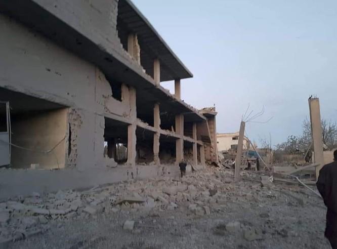Israel không kích phá hủy một tổ hợp tên lửa đạn đạo Syria ảnh 4