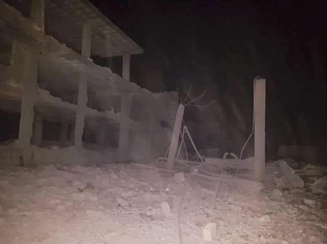 Israel không kích phá hủy một tổ hợp tên lửa đạn đạo Syria ảnh 5