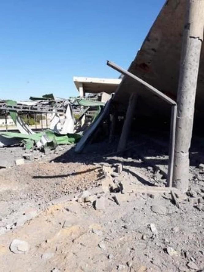 Không quân Quân đội Quốc gia Libya (LNA) đánh phá dữ dội dân quân chính phủ ảnh 6
