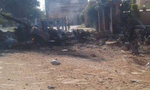 Dân quân chính phủ lâm thời GNA bắn hạ 1 MiG-21 bằng tên lửa phòng không vác MANPAD ảnh 3
