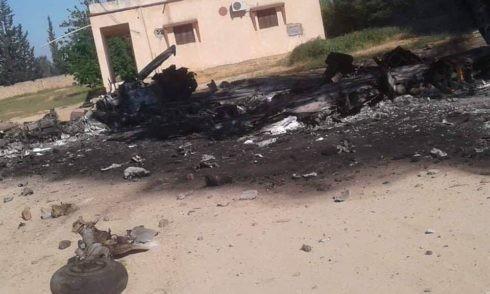 Dân quân chính phủ lâm thời GNA bắn hạ 1 MiG-21 bằng tên lửa phòng không vác MANPAD ảnh 4