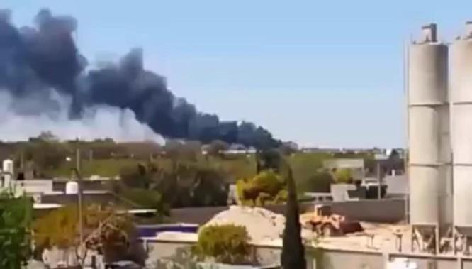 Không quân Quân đội Quốc gia Libya (LNA) đánh phá dữ dội dân quân chính phủ ảnh 1