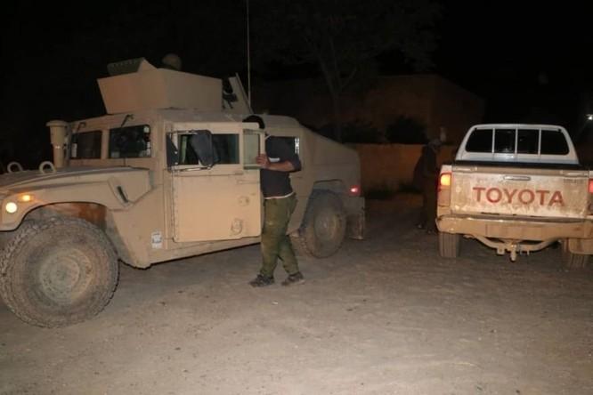 An ninh người Kurd cùng Liên minh quân sự Mỹ truy quét tàn binh IS ở Deir Ezzor ảnh 3