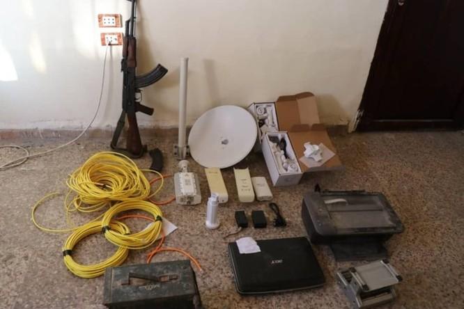An ninh người Kurd cùng Liên minh quân sự Mỹ truy quét tàn binh IS ở Deir Ezzor ảnh 5