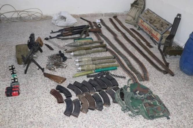 An ninh người Kurd cùng Liên minh quân sự Mỹ truy quét tàn binh IS ở Deir Ezzor ảnh 6