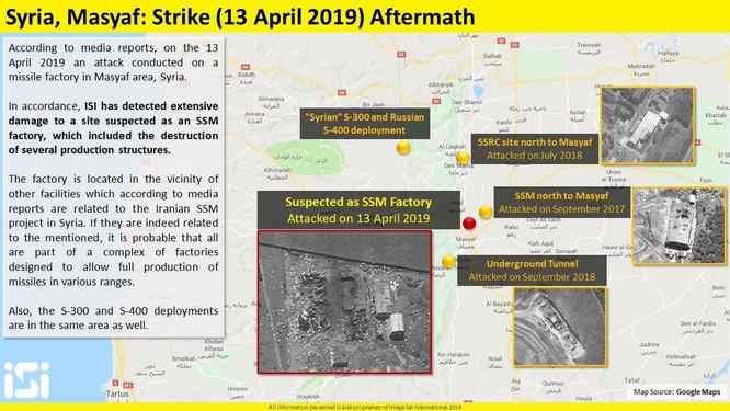Israel sử dụng tên lửa hành trình siêu âm tấn công quân đội Syria ảnh 5