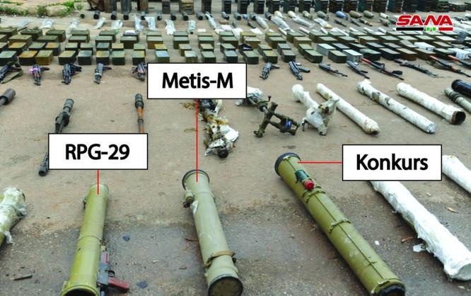 """Syria lại thu hoạch thêm nhiều vũ khí cất giấu của """"quân thánh chiến' ở Daraa ảnh 2"""