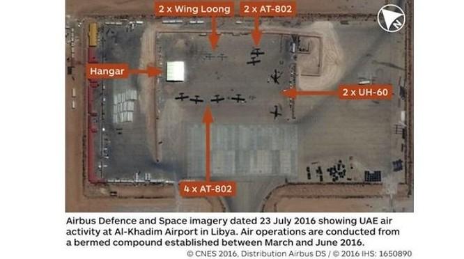 Nghi vấn không quân Pháp dùng UAV tấn công lực lượng dân quân GNA? ảnh 1