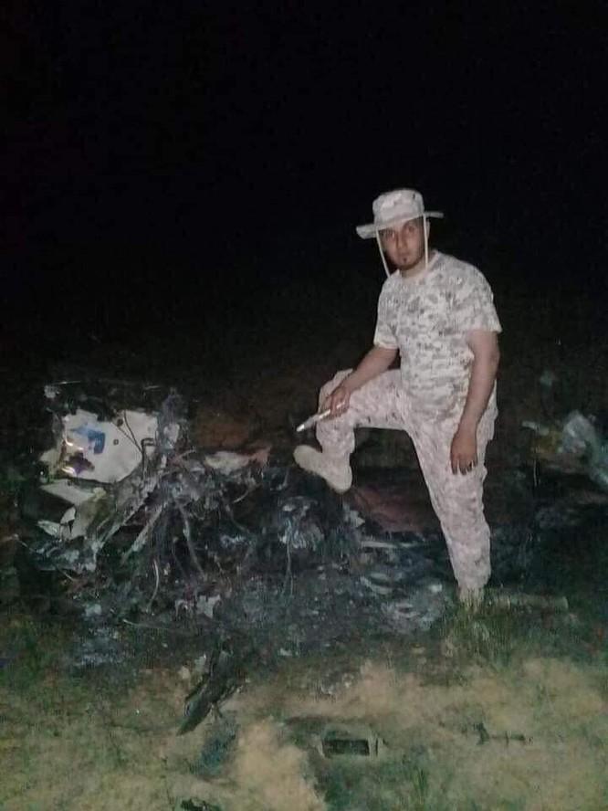 Máy bay chiến đấu Mirage F.1 do Pháp sản xuất bị bắn hạ ở Libya ảnh 1