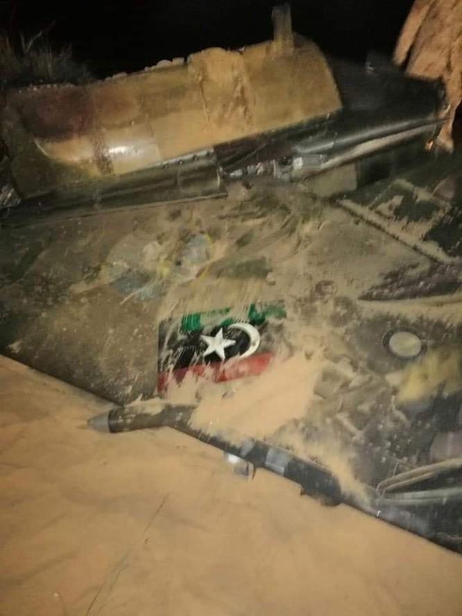 Máy bay chiến đấu Mirage F.1 do Pháp sản xuất bị bắn hạ ở Libya ảnh 2