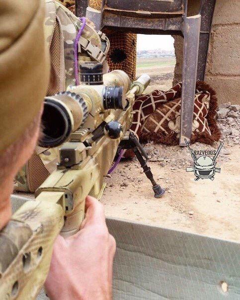 Lính bắn tỉa Nga xuất hiện trong khu phi quân sự Idlib ảnh 2