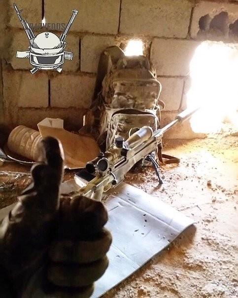 Lính bắn tỉa Nga xuất hiện trong khu phi quân sự Idlib ảnh 3