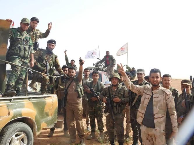 Quân đội Syria-Iraq truy quét biên giới, chuẩn bị mở cửa khẩu thông thương ảnh 2