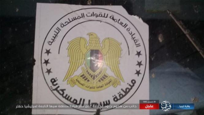 IS bất ngờ tấn công Quân đội Quốc gia (LNA) ảnh 1