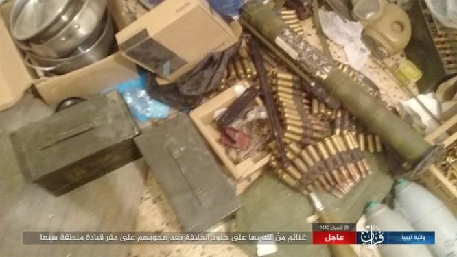 IS bất ngờ tấn công Quân đội Quốc gia (LNA) ảnh 5