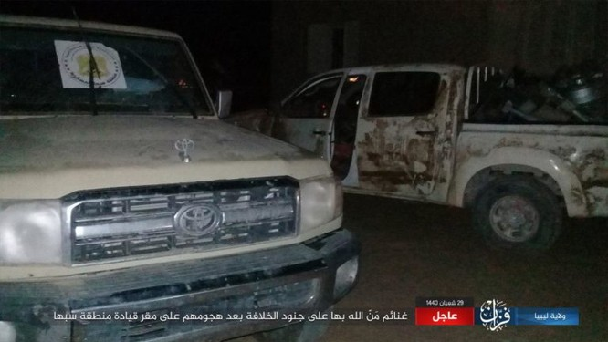 IS bất ngờ tấn công Quân đội Quốc gia (LNA) ảnh 8