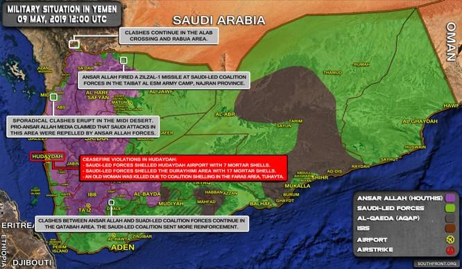 Houthi bẻ gãy cuộc phản công của liên minh quân sự vùng Vịnh ở Ả rập Xê út ảnh 1