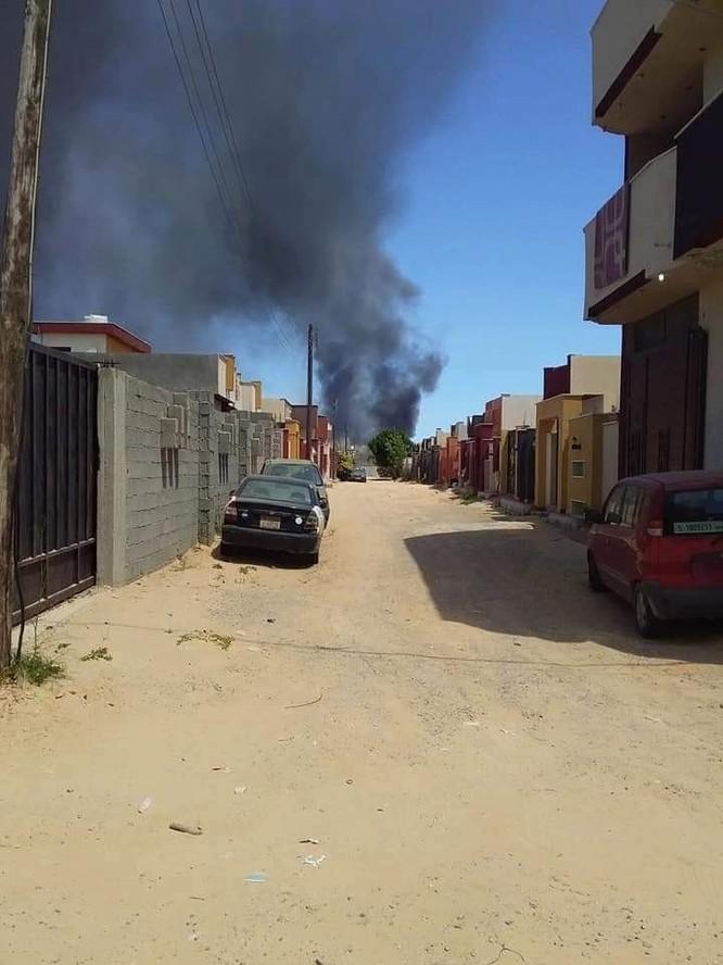 Không quân đồng minh Quân đội quốc gia Libya không kích dữ dội Tripoli ảnh 2