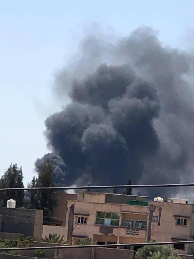 Không quân đồng minh Quân đội quốc gia Libya không kích dữ dội Tripoli ảnh 3