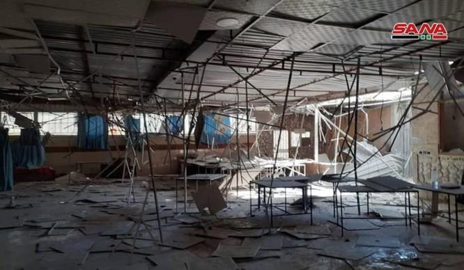 Phòng không căn cứ Hmeimim Lattakia bẻ gãy cuộc tập kích tên lửa thánh chiến vào sân bay Nga ảnh 1