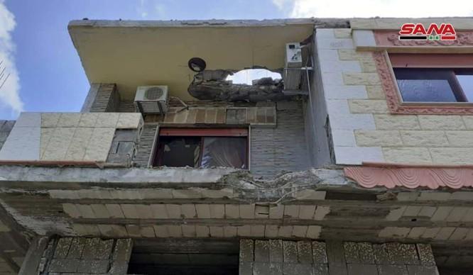 Phòng không căn cứ Hmeimim Lattakia bẻ gãy cuộc tập kích tên lửa thánh chiến vào sân bay Nga ảnh 3