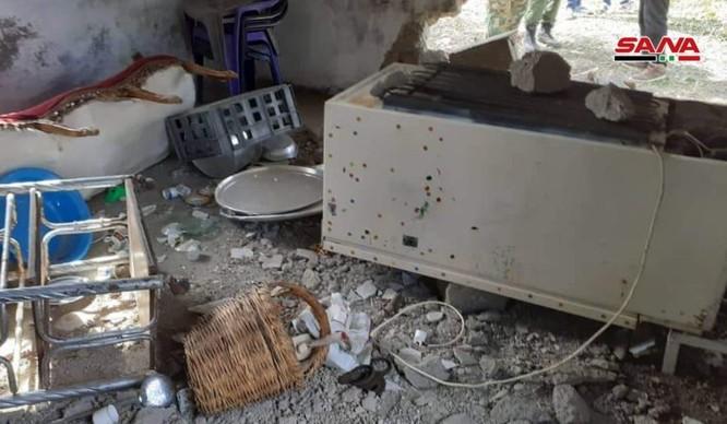 Phòng không căn cứ Hmeimim Lattakia bẻ gãy cuộc tập kích tên lửa thánh chiến vào sân bay Nga ảnh 4