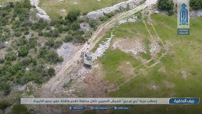 Sư đoàn cơ giới số 4 tiếp tục thất bại ở Latakia ảnh 1