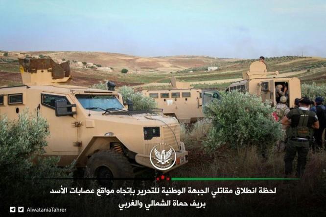 Giao chiến căng thẳng phía bắc Hama, có dấu hiệu Thổ Nhĩ Kỳ hậu thuẫn cho thánh chiến ảnh 1