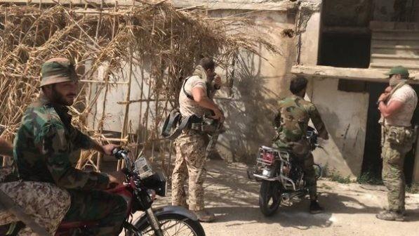 Quân nhân Nga tham chiến trên chiến trường tây nam Idlib, Syria ảnh 5
