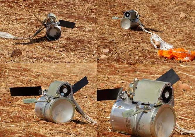 Cận cảnh không quân Nga sử dụng bom chùm diệt tăng ở Syria ảnh 2