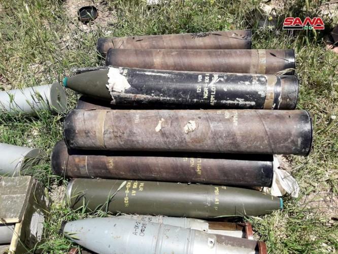 Quân đội Syria lại thu hoạch một kho vũ khí mới của khủng bố ở Hama ảnh 5