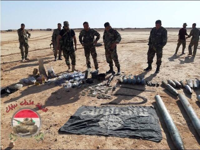 Quân đội Syria đánh bại cuộc phục kích, diệt một số phần tử IS gần Palmyra ảnh 2