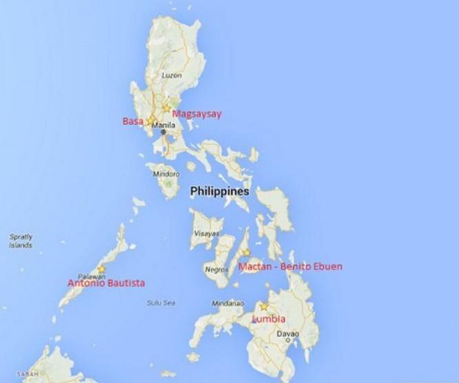 Philippines cho Mỹ thuê 5 căn cứ quân sự