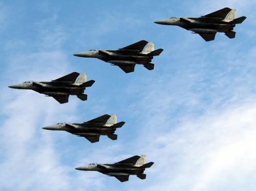 Lực lượng Phòng vệ Trên không Nhật Bản tăng cường triển khai máy bay chiến đấu ở khu vực tây nam (Ảnh tư liệu).