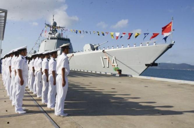 Tàu khu trục Hợp Phì số hiệu 174 Type 052D, Hạm đội Nam Hải, Hải quân Trung Quốc.