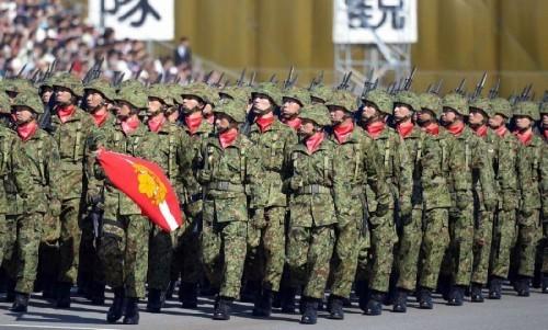 Binh sĩ Lực lượng Phòng vệ Nhật Bản (Ảnh tư liệu).