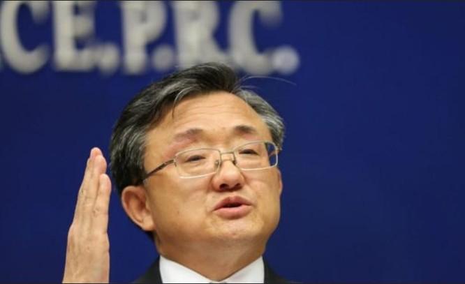 Lưu Chấn Dân, Thứ trưởng Ngoại giao Trung Quốc. Ảnh: BBC Anh