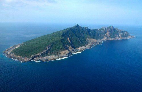 Đảo Senkaku do Nhật Bản kiểm soát thực tế, Trung Quốc gọi là đảo Điếu Ngư (Ảnh tư liệu)