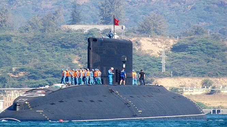 Tàu ngầm Hà Nội, lớp Kilo, Hải quân Việt Nam, mua của Nga (Ảnh tư liệu)