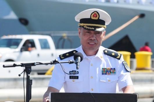 Thẩm Kim Long, Tư lệnh Hạm đội Nam Hải, Hải quân Trung Quốc vừa được thăng quân hàm Trung tướng - Phó Đô đốc