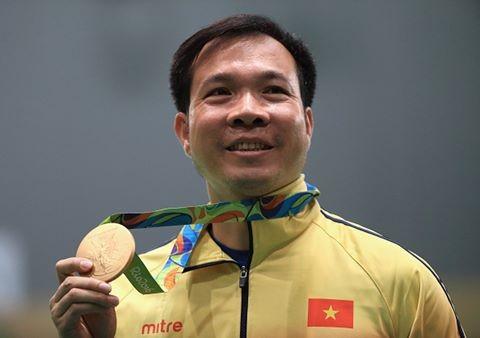 Hoàng Xuân Vinh đã ghi dấu ấn lịch sử cho ngành thể thao Việt Nam.