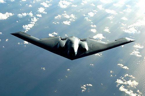 Máy bay ném bom chiến lược tàng hình B-2A Không quân Mỹ (Ảnh tư liệu)