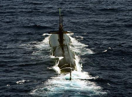 Tàu ngầm hạt nhân tấn công lớp Los Angeles Hải quân Mỹ (Ảnh tư liệu)
