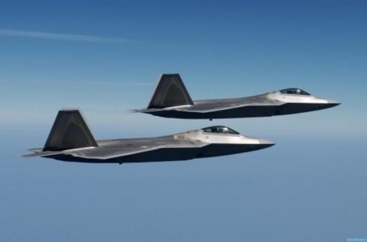 Máy bay chiến đấu tàng hình F-22A Mỹ