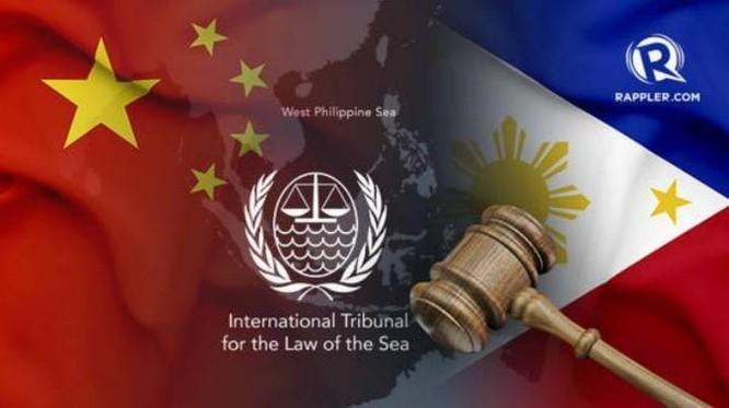 Phán quyết của Tòa trọng tài ở The Hague ngày 12/7/2016 về vụ kiện của Philippines đã tạo cơ sở pháp lý cho giải quyết tranh chấp Biển Đông. Ảnh: Btime