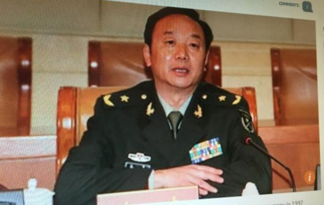 Thiếu tướng Trần Kiệt, chính ủy tập đoàn quân 42 Chiến khu miền Nam, Quân đội Trung Quốc tự sát chưa rõ nguyên nhân. Ảnh: Minh Kính