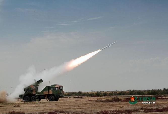 Tên lửa phòng không HQ-6 Trung Quốc. Ảnh: Tân Hoa xã/81.cn