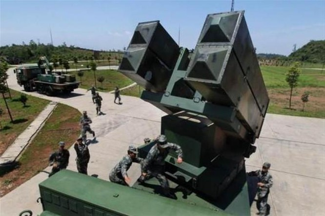 Tên lửa phòng không HQ-6 Trung Quốc. Ảnh: Chinatimes